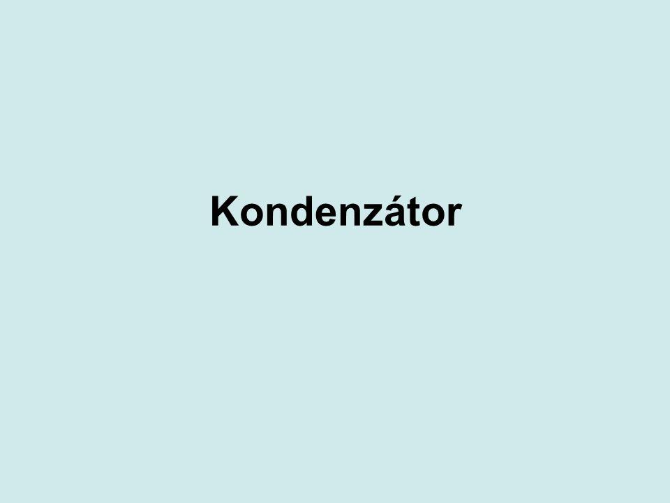 Kondenzátor
