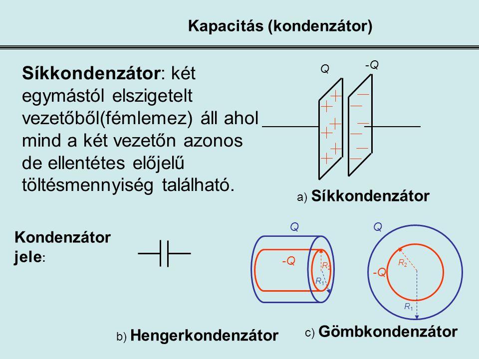 Kapacitás (kondenzátor)