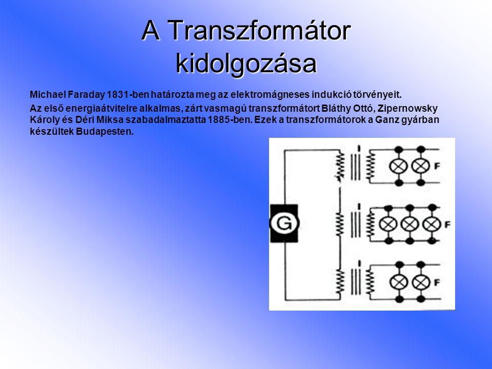 A Transzformátor kidolgozása