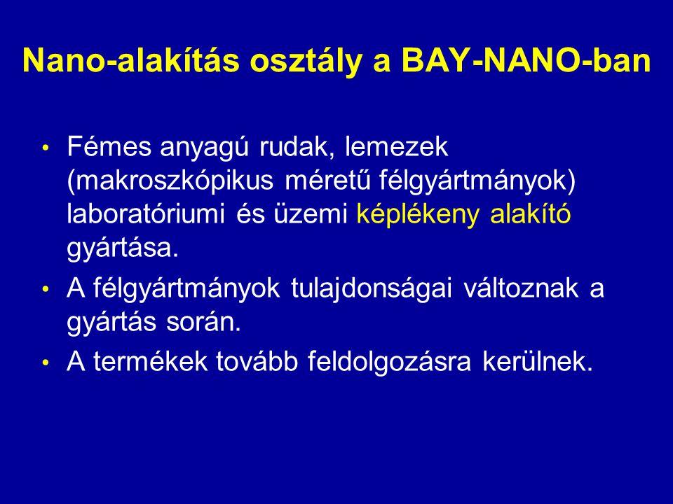 Nano-alakítás osztály a BAY-NANO-ban