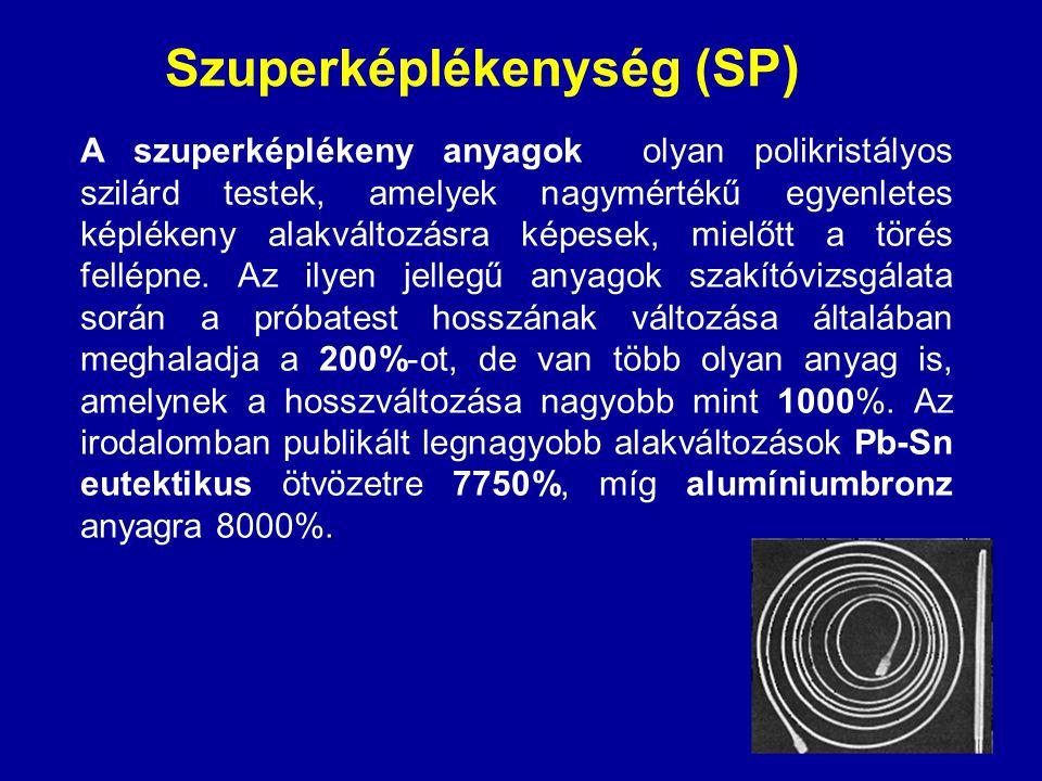 Szuperképlékenység (SP)