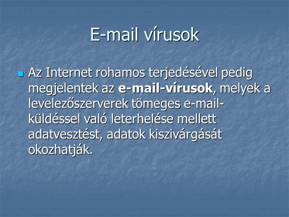 E-mail vírusok