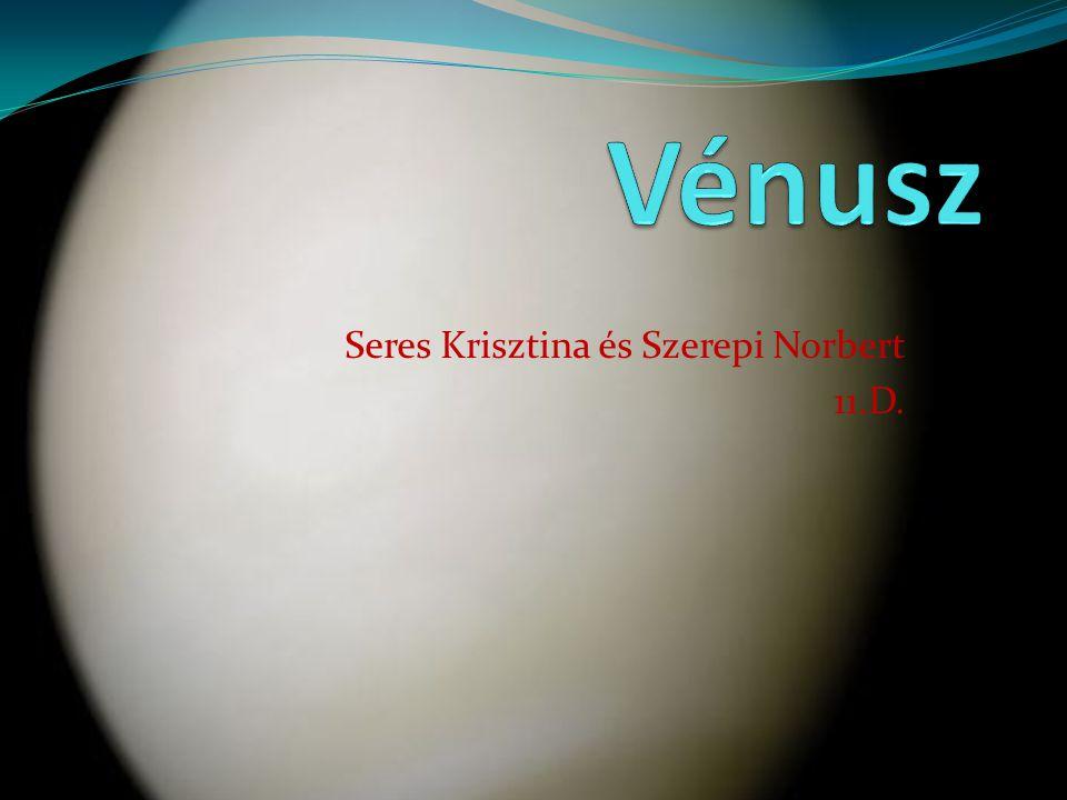 Seres Krisztina és Szerepi Norbert 11.D.