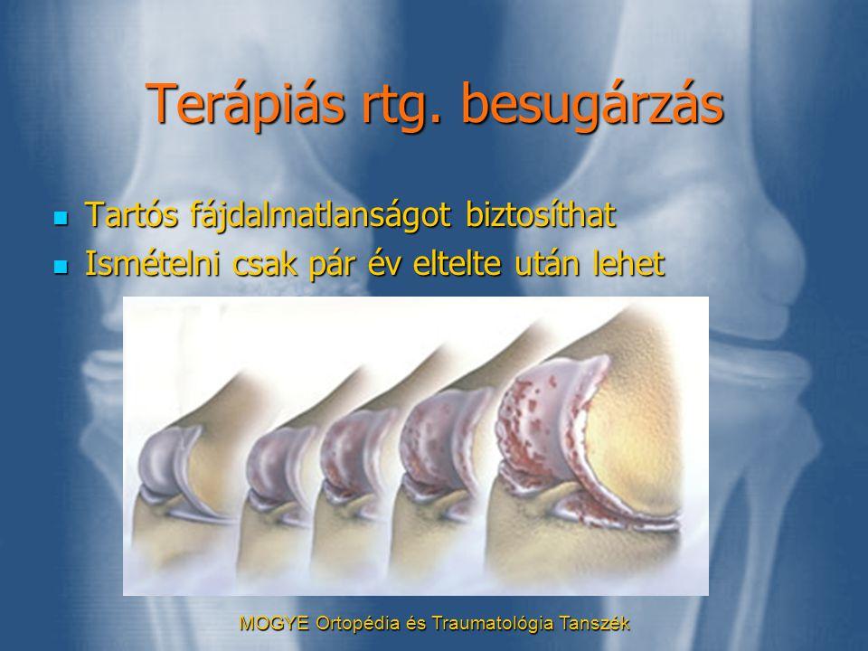 Terápiás rtg. besugárzás