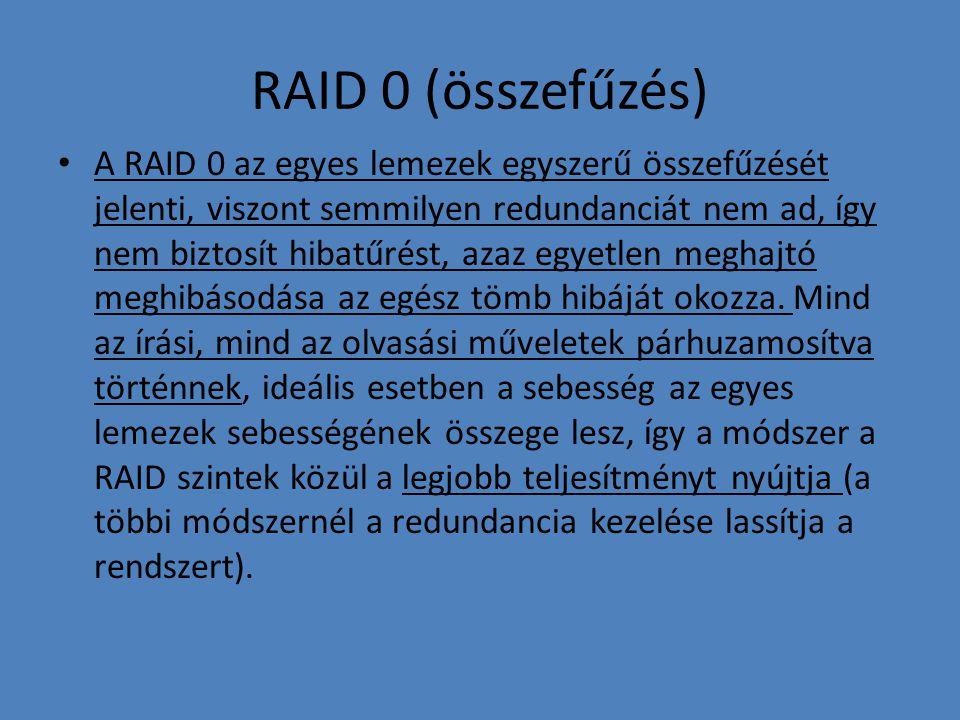 RAID 0 (összefűzés)