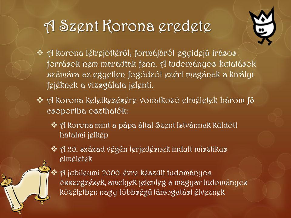 A Szent Korona eredete