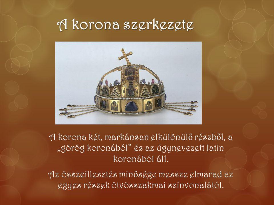 A korona szerkezete