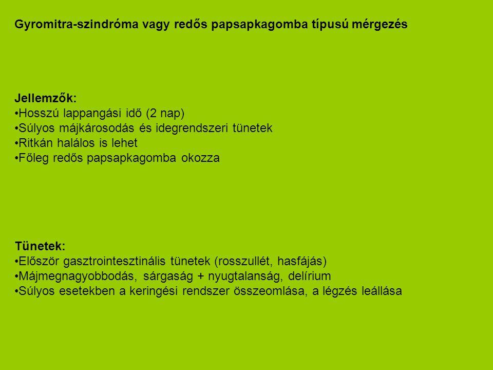 Gyromitra-szindróma vagy redős papsapkagomba típusú mérgezés