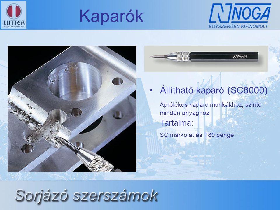 Kaparók Állítható kaparó (SC8000)