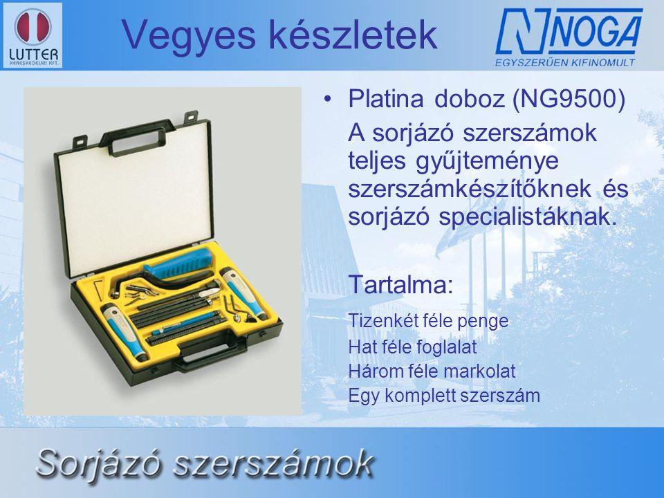 Vegyes készletek Platina doboz (NG9500)