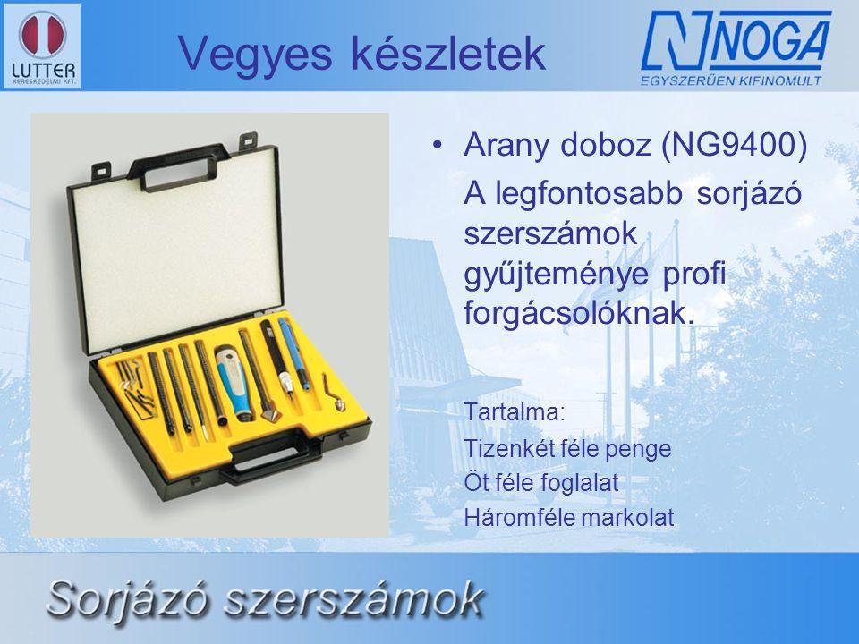 Vegyes készletek Arany doboz (NG9400)