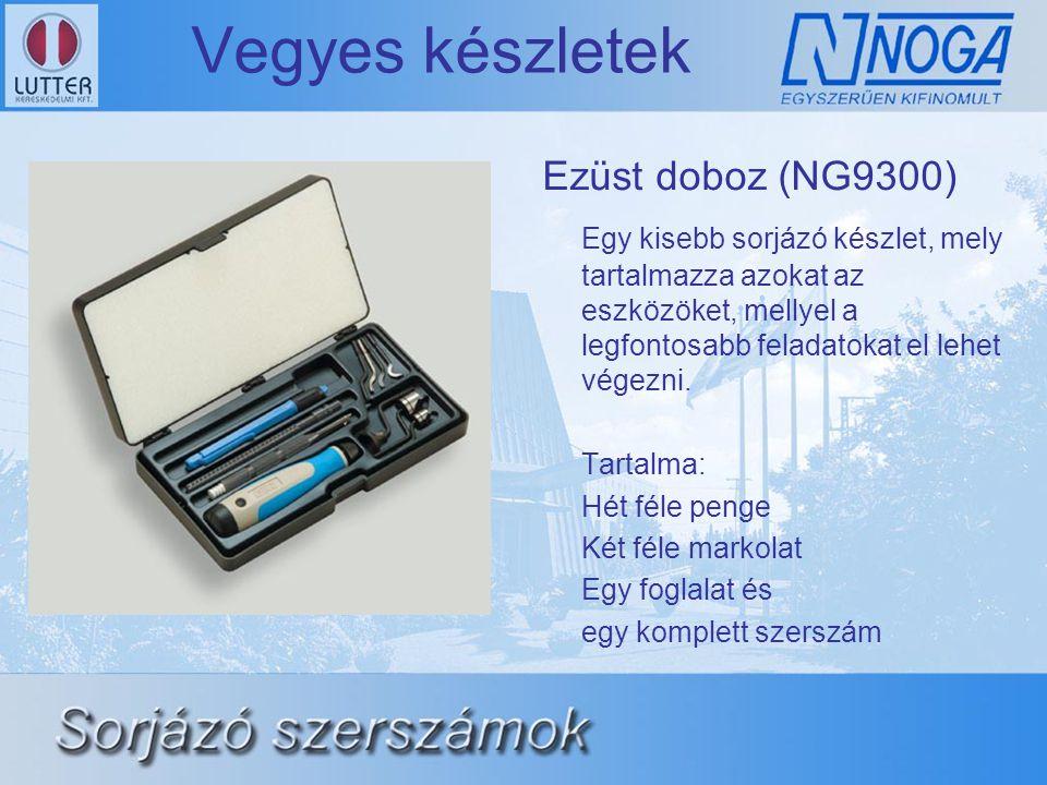 Vegyes készletek Ezüst doboz (NG9300)