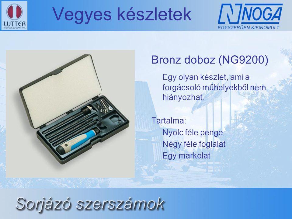 Vegyes készletek Bronz doboz (NG9200)