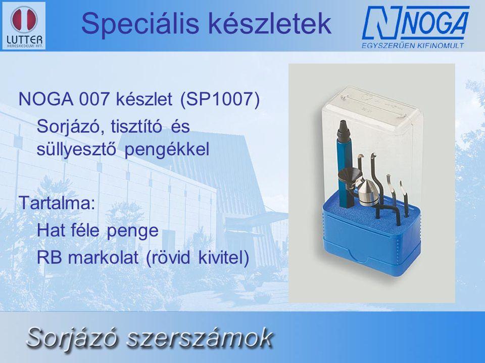 Speciális készletek NOGA 007 készlet (SP1007)