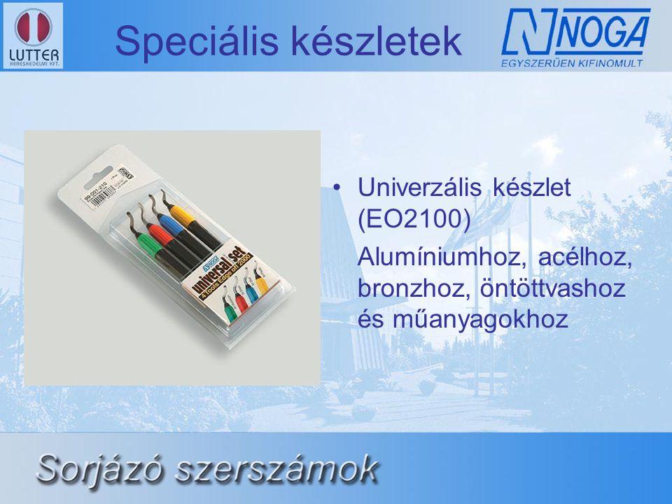 Speciális készletek Univerzális készlet (EO2100)