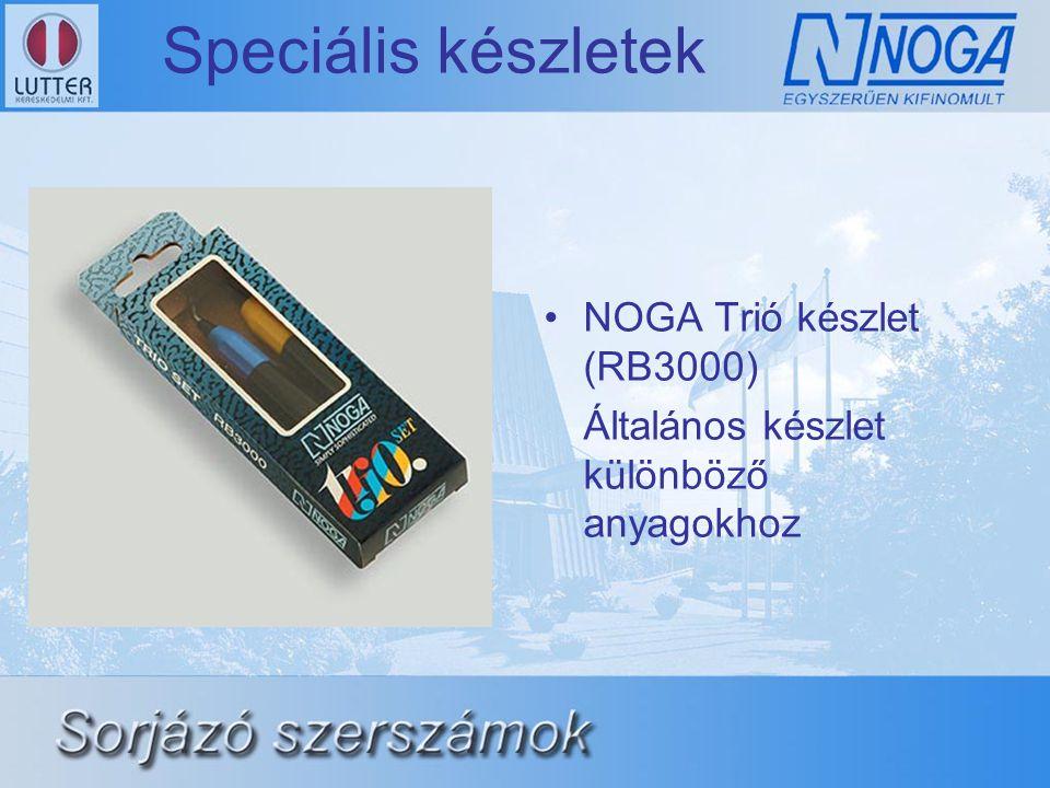 Speciális készletek NOGA Trió készlet (RB3000)