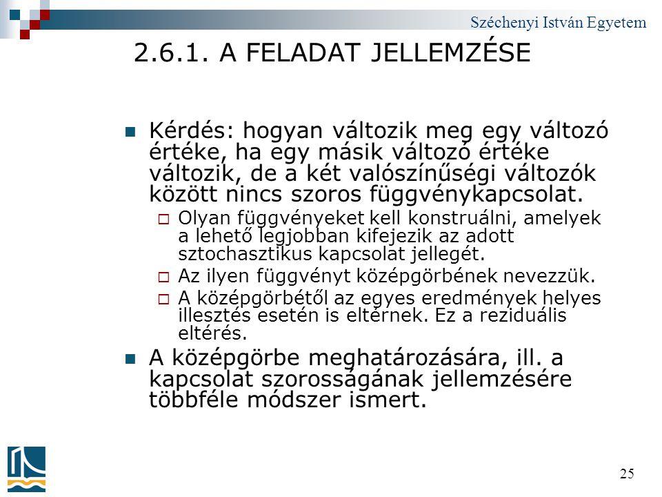 2.6.1. A FELADAT JELLEMZÉSE