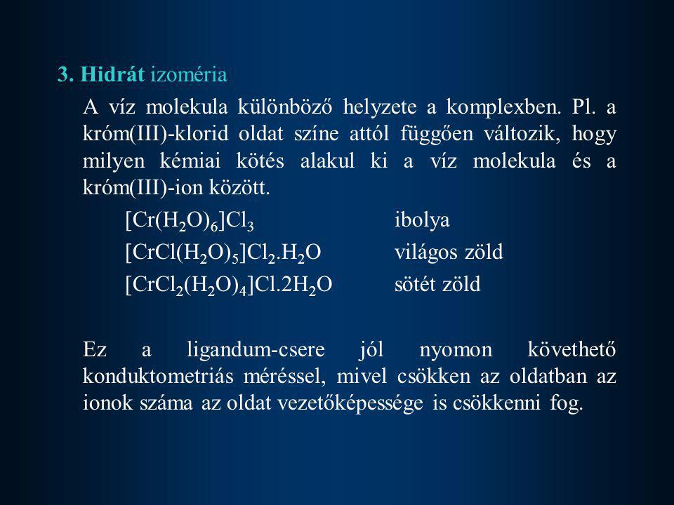 3. Hidrát izoméria