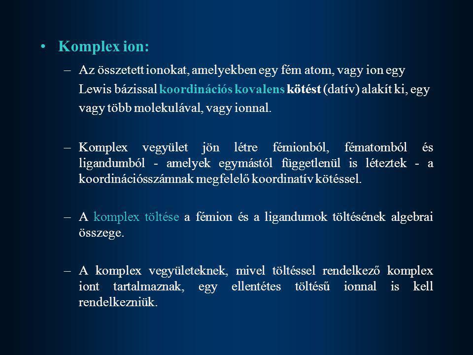 Komplex ion: