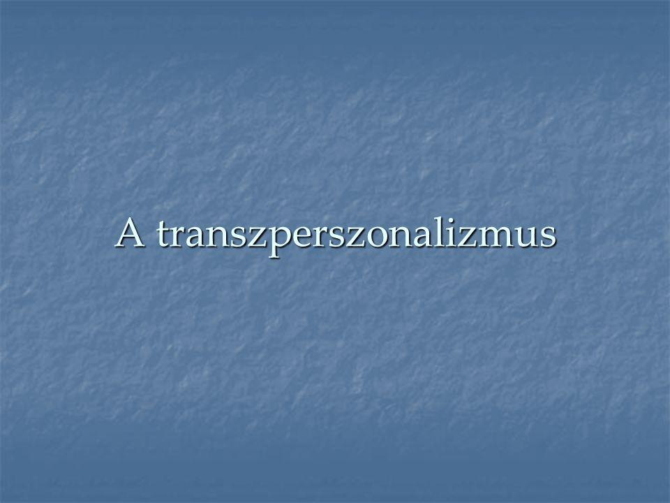 A transzperszonalizmus