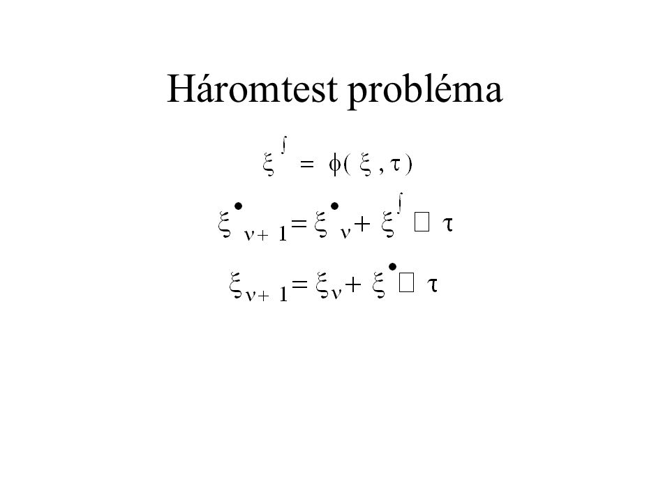 Háromtest probléma