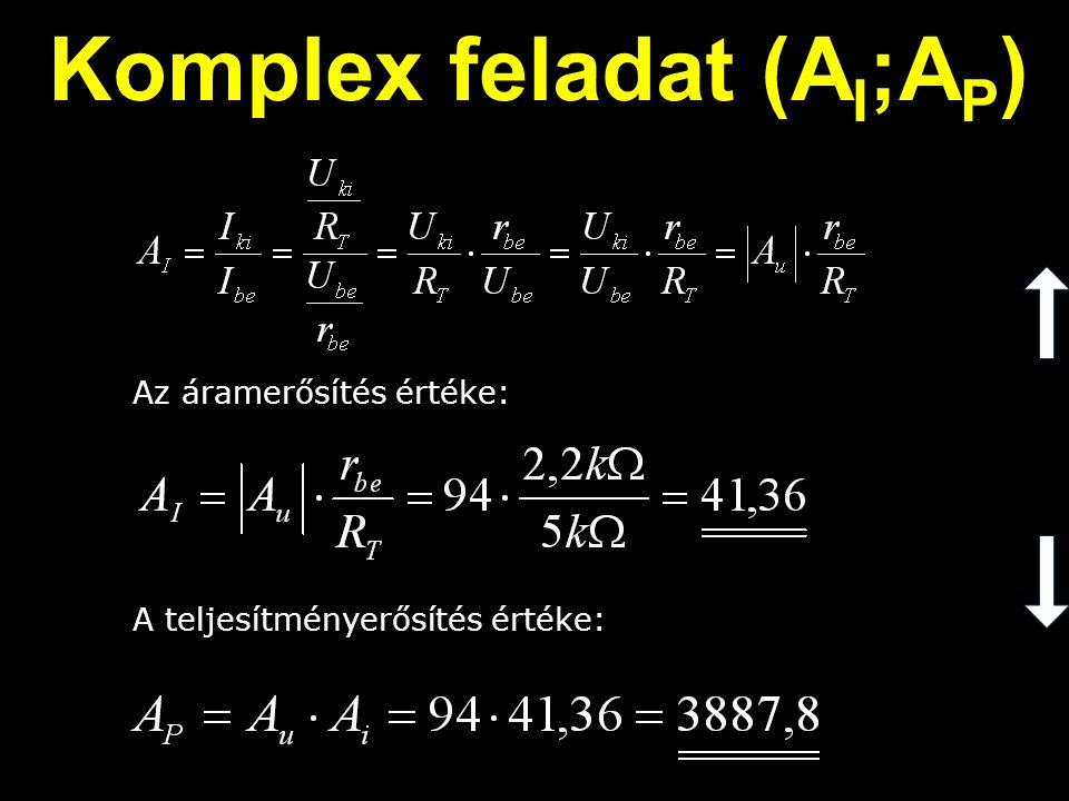 Komplex feladat (AI;AP)