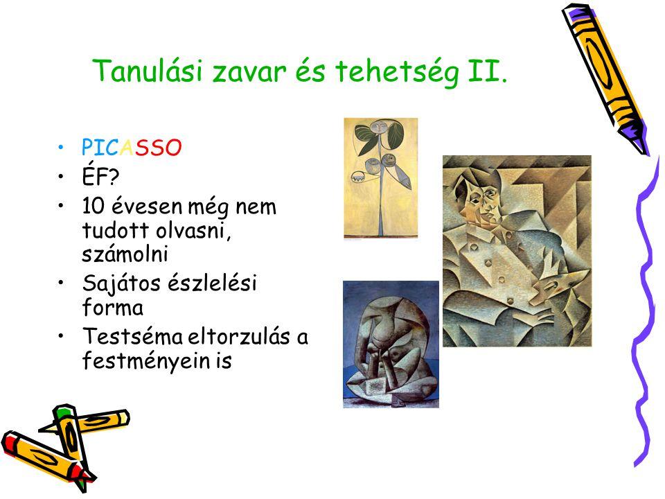Tanulási zavar és tehetség II.