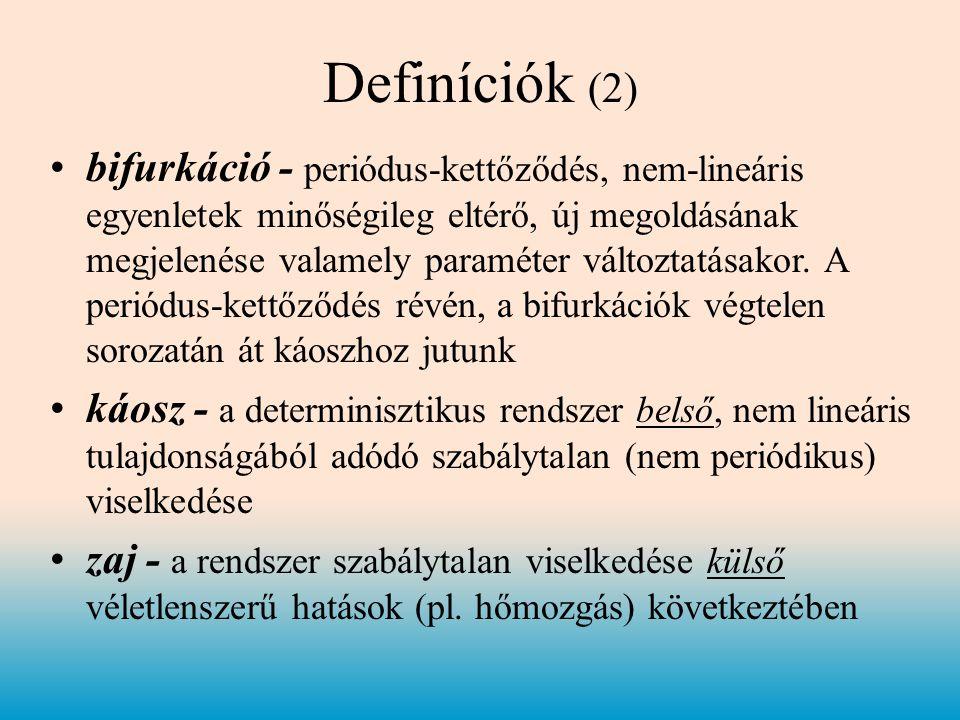 Definíciók (2)