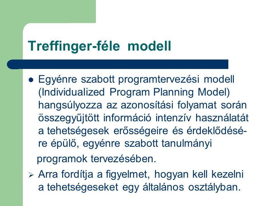 Treffinger-féle modell