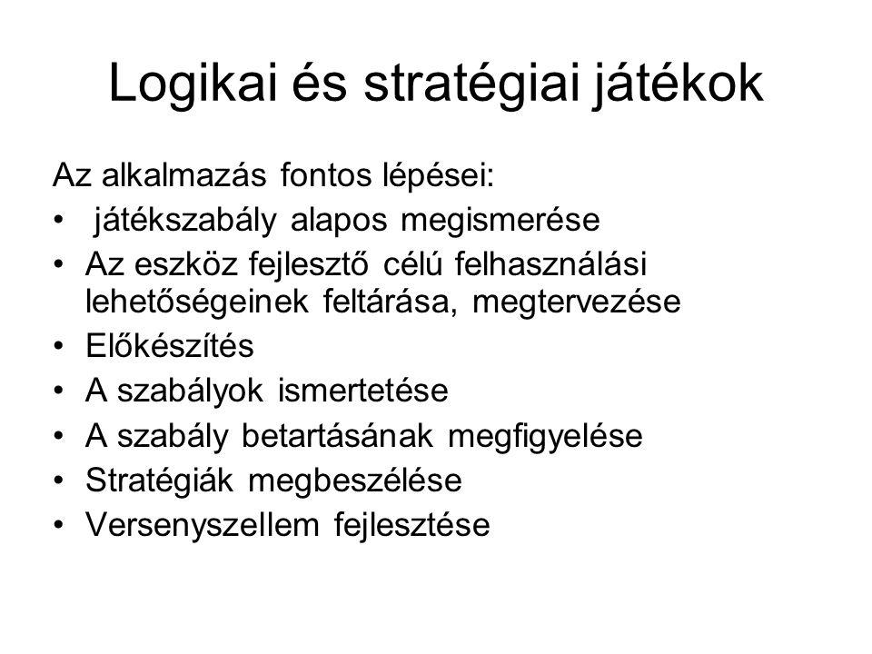 Logikai és stratégiai játékok