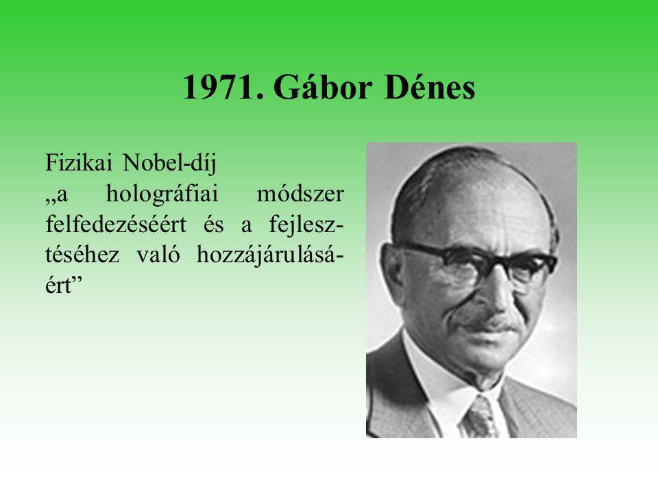 1976. Milton Friedman Közgazdasági Nobel-díj