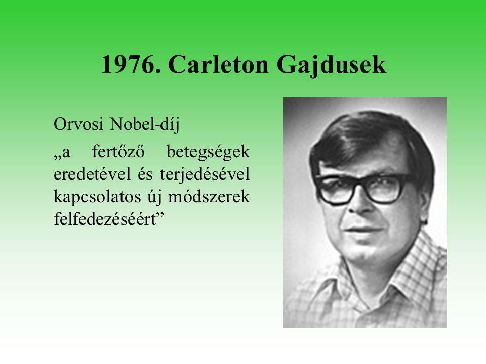 1986. Polányi János Kémiai Nobel-díj