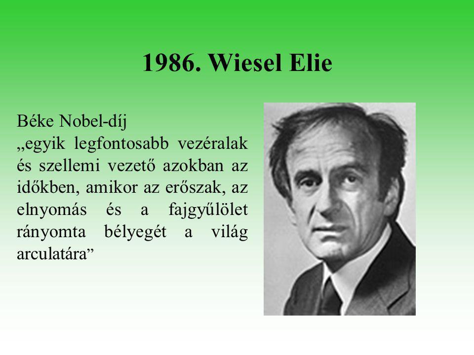 1994. Harsányi János Közgazdasági Nobel-díj