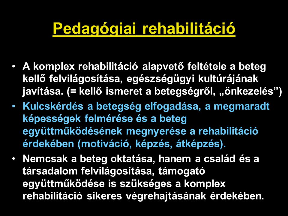 Pedagógiai rehabilitáció