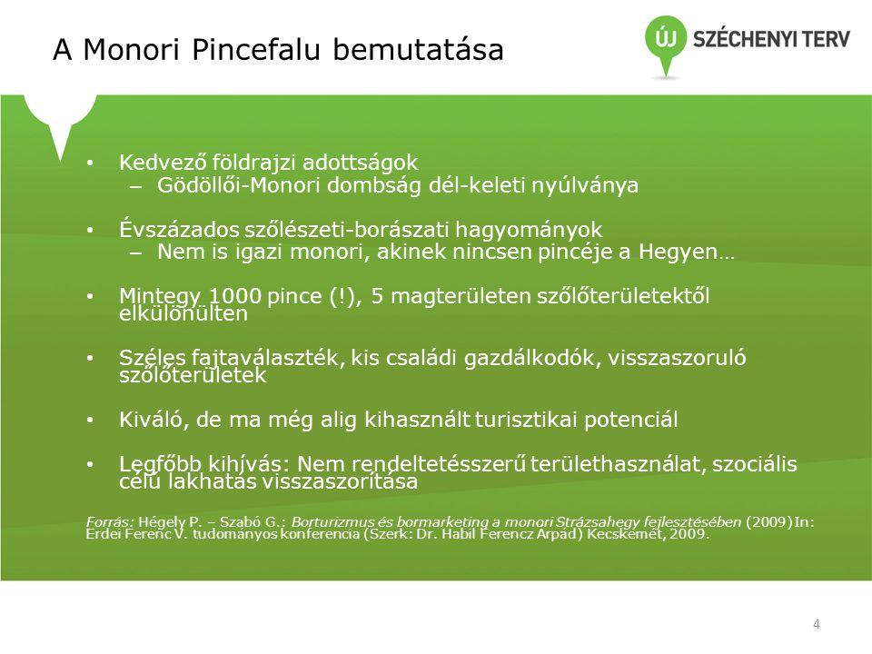 A Monori Pincefalu bemutatása