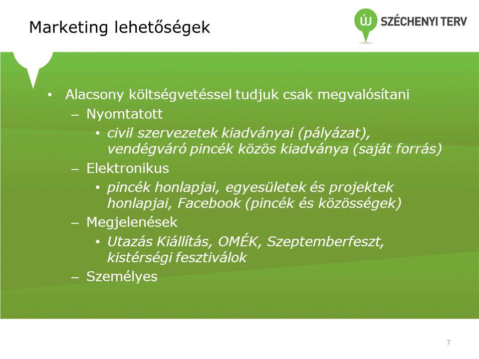 Marketing lehetőségek