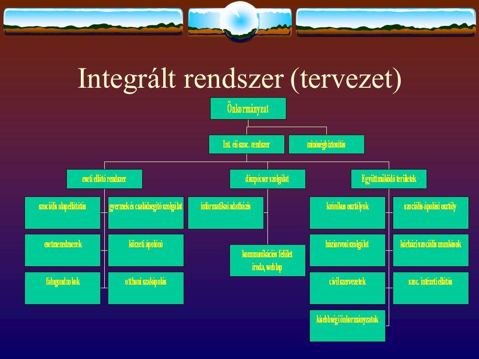 Integrált rendszer (tervezet)