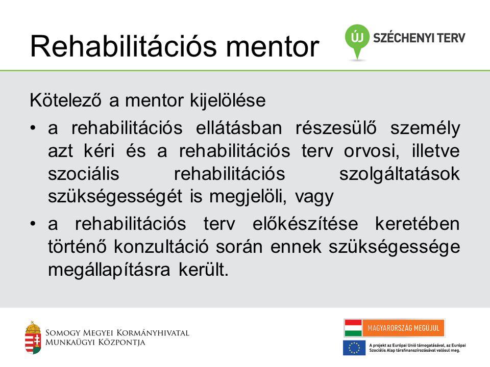 Rehabilitációs mentor