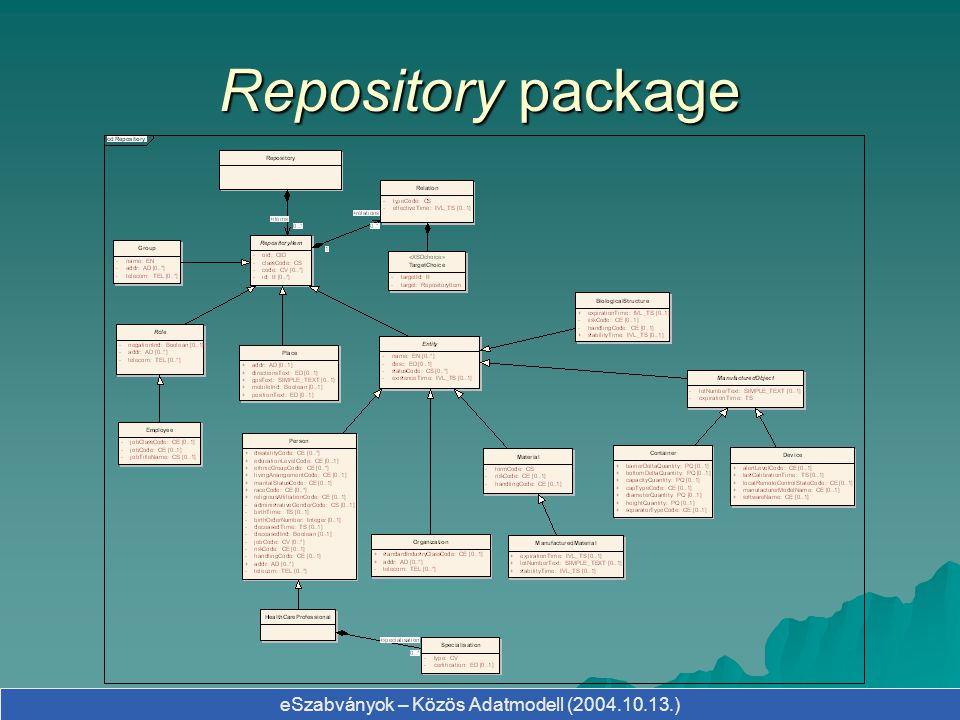 Repository package