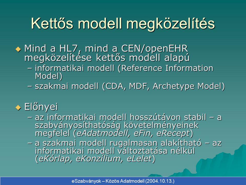 Kettős modell megközelítés