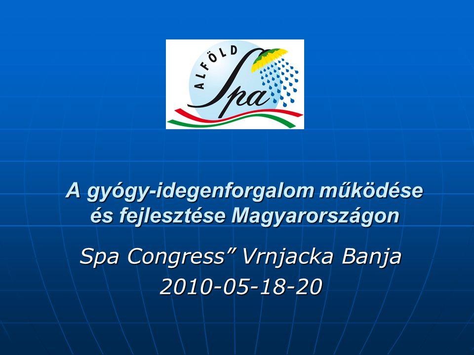 A gyógy-idegenforgalom működése és fejlesztése Magyarországon