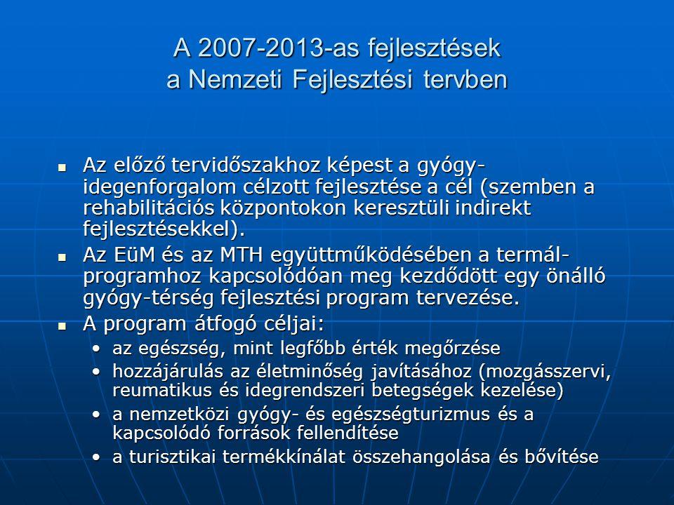 A 2007-2013-as fejlesztések a Nemzeti Fejlesztési tervben