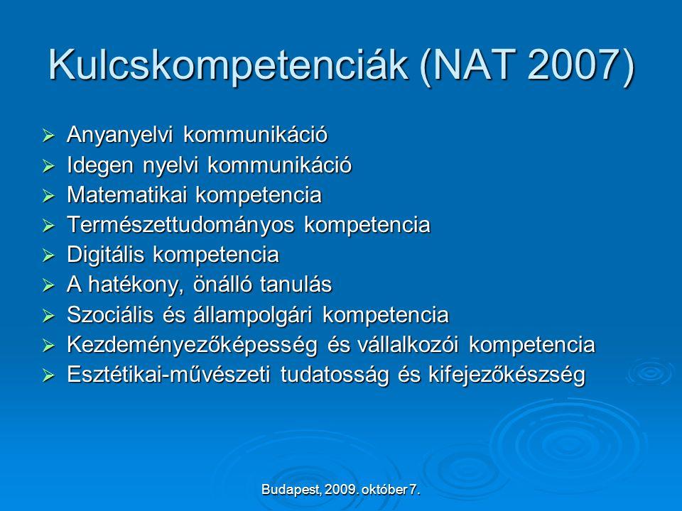 Kulcskompetenciák (NAT 2007)
