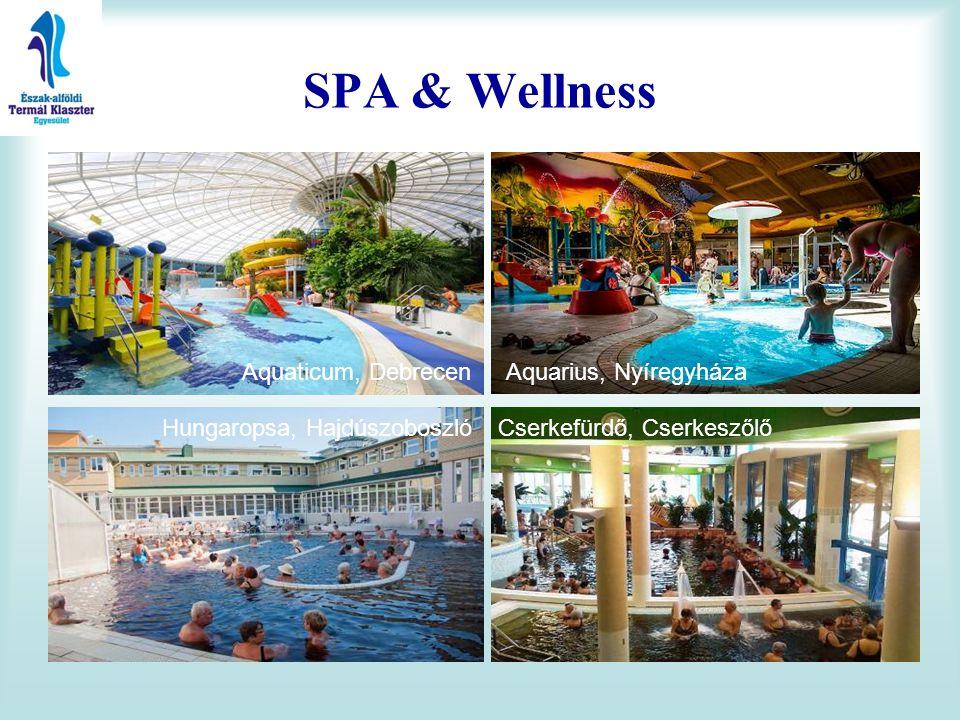 SPA & Wellness Aquaticum, Debrecen Aquarius, Nyíregyháza