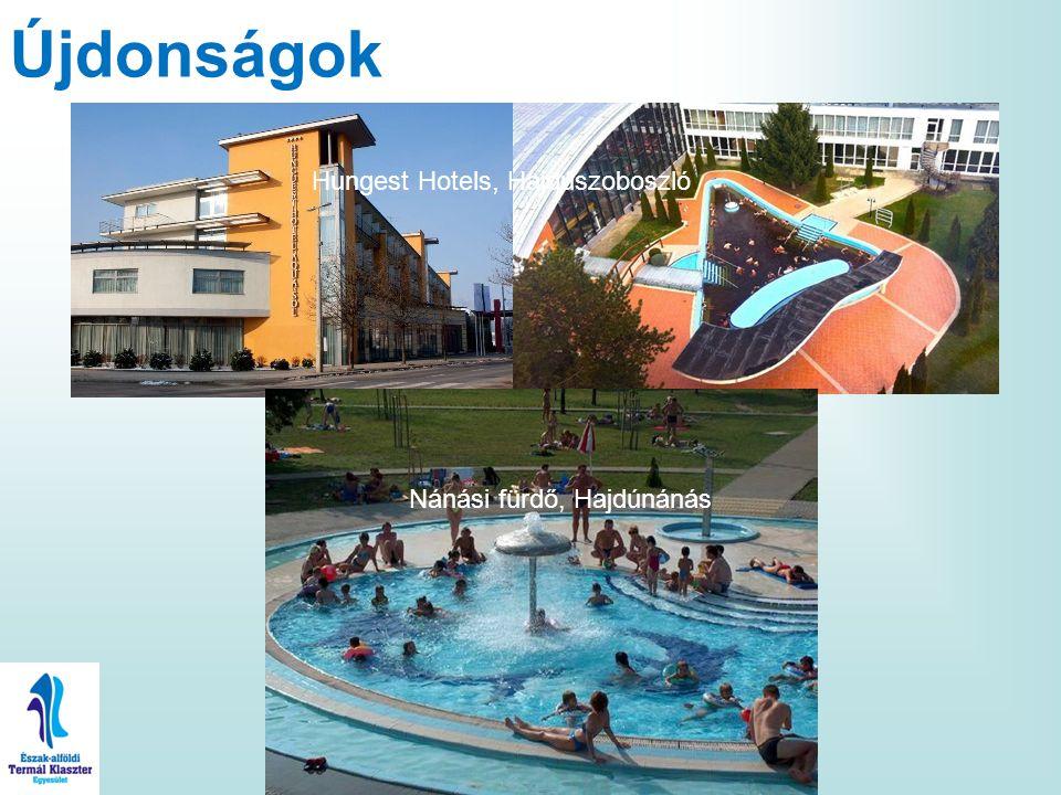 Újdonságok Hungest Hotels, Hajdúszoboszló Nánási fürdő, Hajdúnánás