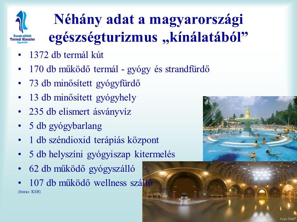 """Néhány adat a magyarországi egészségturizmus """"kínálatából"""