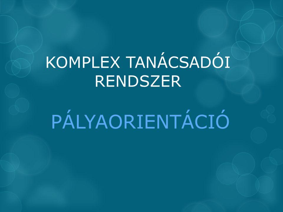 KOMPLEX TANÁCSADÓI RENDSZER