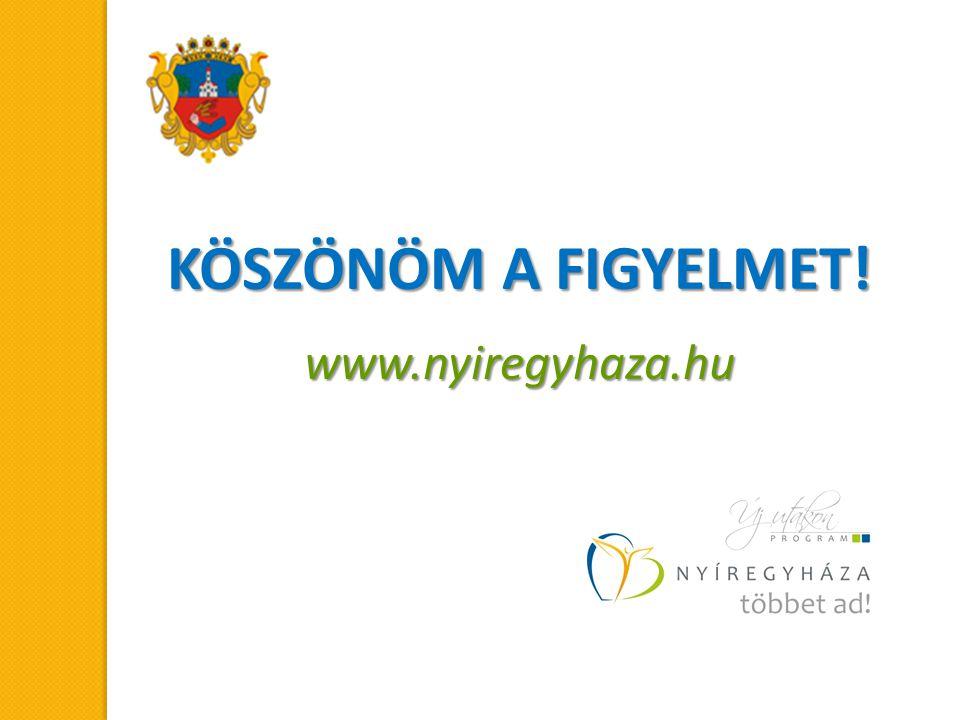 KÖSZÖNÖM A FIGYELMET! www.nyiregyhaza.hu