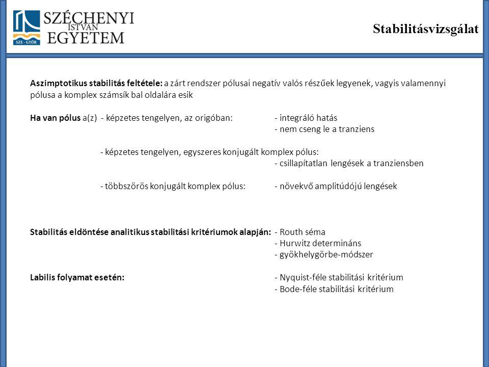 Stabilitásvizsgálat