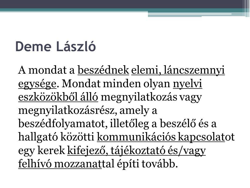 Deme László